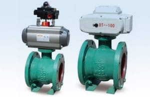 V-Adjustable Ball Valve