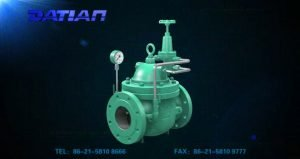 water power control valve