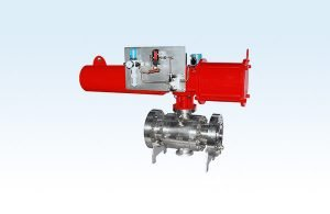 Pneumatic Stainless Steel Ball Valve