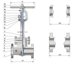 cryogenic gate valve