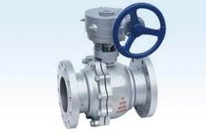 Gear Operated Flange Ball Valve